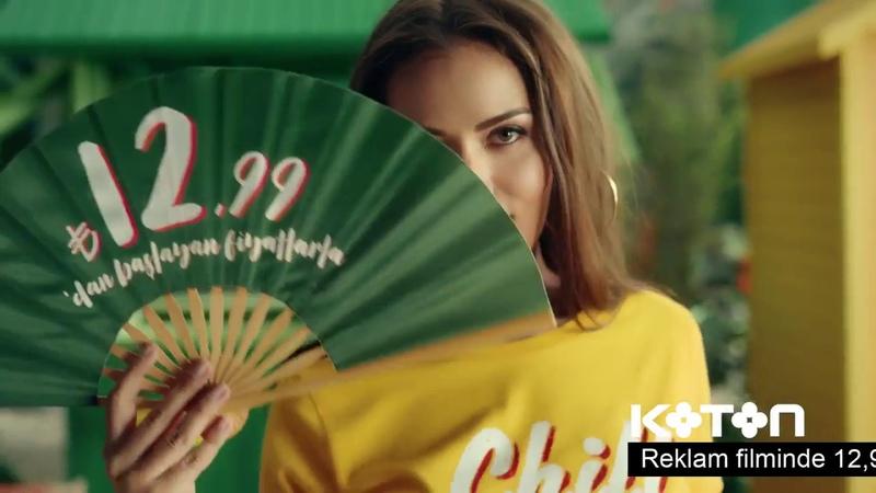 Fahriye Evcen Yeni Koton Reklamı Şimdi Serinleten Fiyatlar Moda