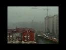 В Смоленске строительный кран не устоял под напором ветра