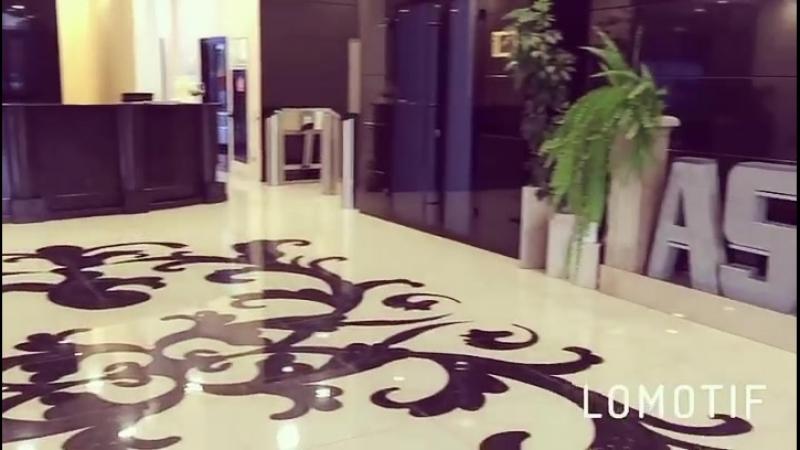 Холл 1 этажа БЦ АСТОН