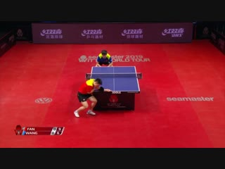 Fan Zhendong vs Wang Chuqin - 2019 ITTF World Tour Hungarian Open Highlights (1-2)
