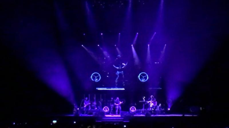 David Garret in Zagreb Arena 13.10.18 Purple Rain