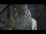 Resident Evil 4 Ultimate HD Edition God of War III Mod - Kratos VS Zeus