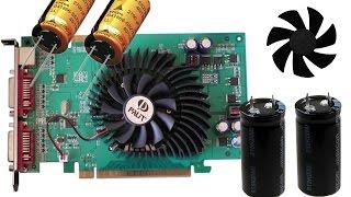 8600GT безумная замена конденсаторов