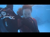 Sarah's successful bail-in in Tallahassee SCUBA instructor Gabrielle's class