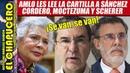 AMLO alista salida de Sánchez Cordero y Moctezuma del gabinete por intereses inconfesables