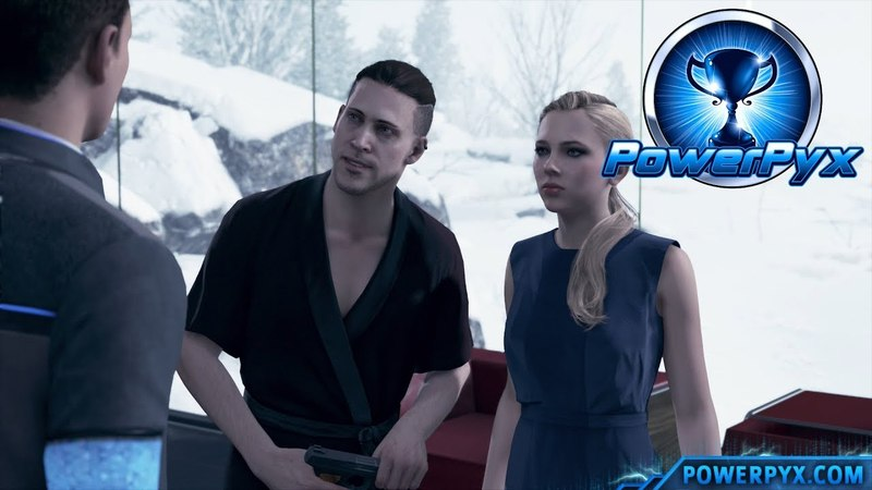 Detroit Become Human - KINSHIP Trophy Guide (Connor spared Chloe)