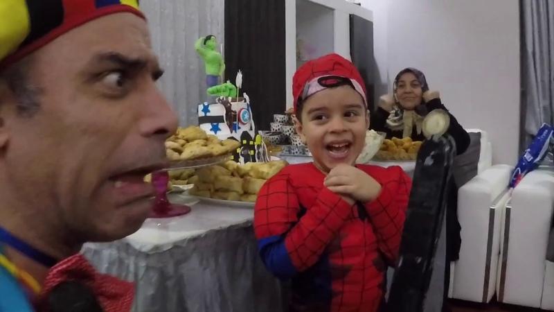 Palyaço Fiko'nun Evde Doğum Günü Kutlaması