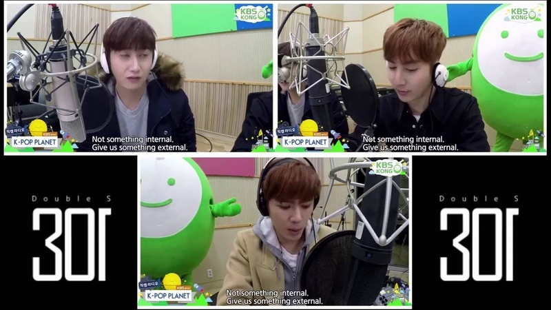 Double S 301 - KBS Radio K-Pop Planet 160306 [Eng Sub]