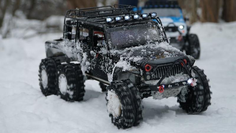 Москва. RC трофи. Радиоуправляемые модели traxxas TRX 4, axial, Rubicon 6WD, ЗИЛ. RC trophy.