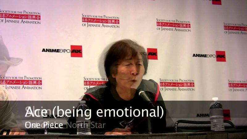 Toshio Furukawa Does Voices! - Anime Expo 2011
