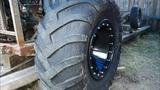 Обдирка шины ИД П284 и монтаж её на диск
