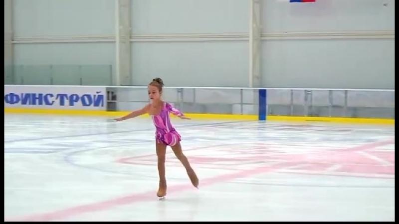 Юнный фигурист. Павликова Ульяна 2011 г.