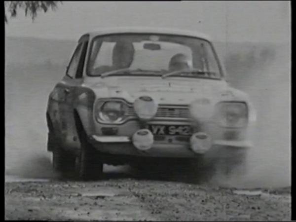 Top Gear feature from 1997 - Roger Clark Tony Mason's Mk1 Escort RS1600