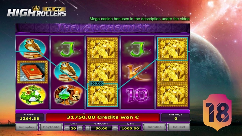 Gigantic Mega Big Win Casino €!82400 The alchemist slot game VINCITORE.CO