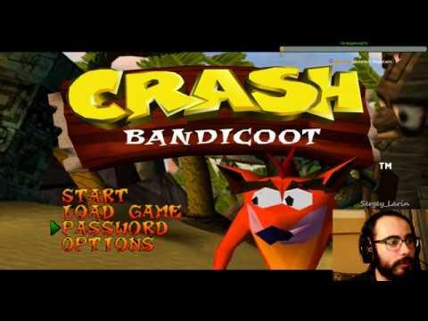 Прохождение Crash Bandicoot Часть 1 Остров