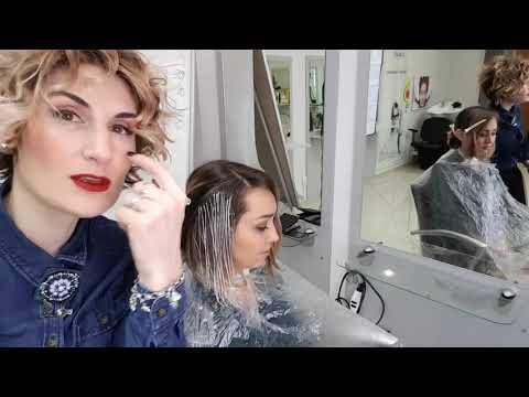 Калифорнийское мелирование на русые волосы в салоне Naturel Studio