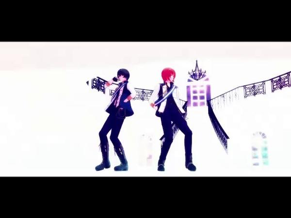 【MMDあんスタ】レオと凛月のフラジール【表情データ配布あり】 【MMD Ansta】