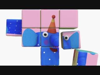 Деревяшки - Полёт - Серия 52 - развивающие мультики для самых маленьких