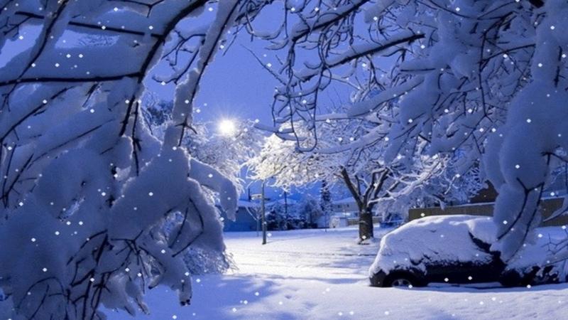 Вот и встретились осень с зимою Падал снег (муз. Сергей Чекалин)