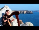 Jigs : Gallagher's Frolic-Out of the ocean-The Rolling waves /Crozon/Irish jigs-Celtic harp video HD