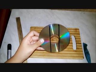 3 идеи из старых cd дисков!
