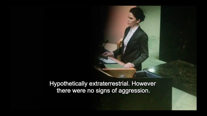 UN hidden camera the first UFO contact happened Pentagon Pyramid