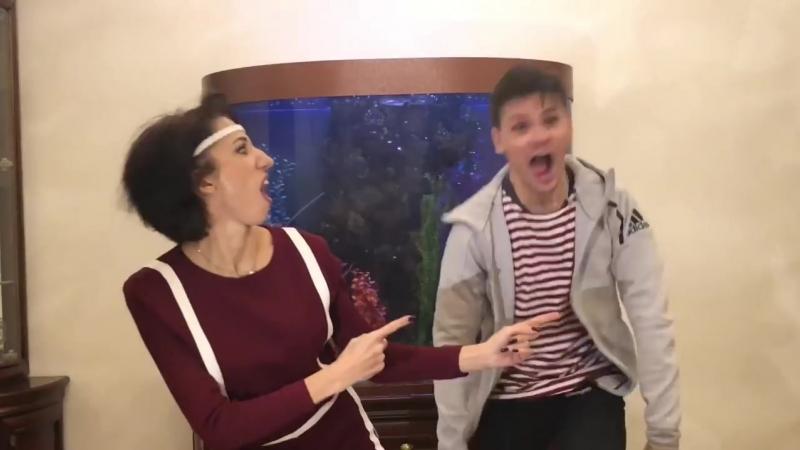 Mama i syn Tantsy gan 13