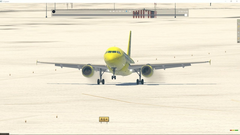 X-Plane | Лимончело тянется в небо
