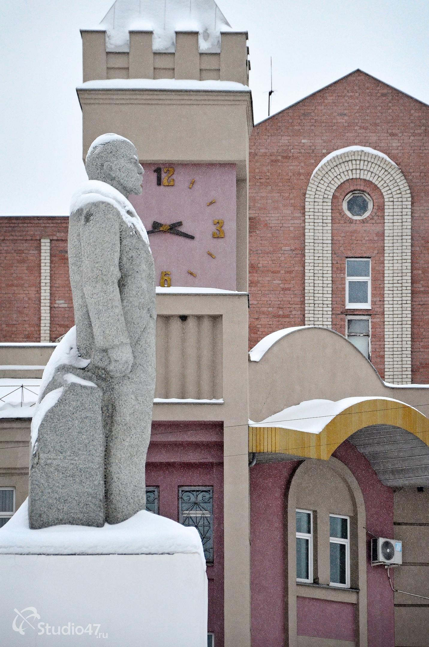 Памятник Ленину в Борисоглебске