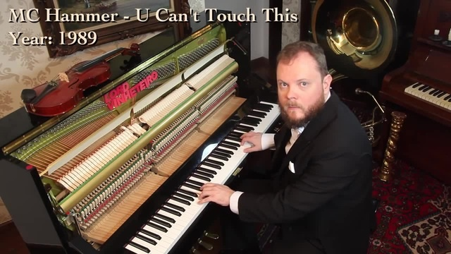 U can't touch my piano