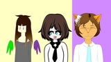 Just a bit crazy *meme* COLLAB: Goldy,-Dark-,Chimi,Welcome to hell