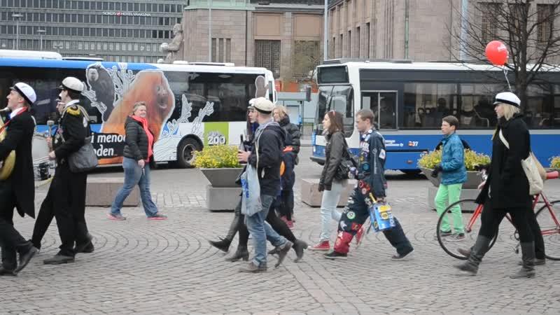 Автобусно-паромный тур Санкт-Петербург-Хельсинки-Турку-Стокгольм 1-3 мая. Хельсинки (Финляндия). Праздник Ваппу.