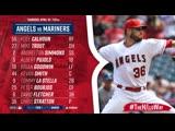 Лос Анджелес Энджелс vs Сиэтл Маринерс