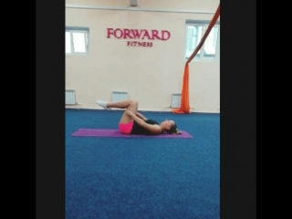Pilates с Настасьей в FORWARD FITNESS