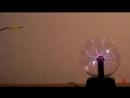Газовый разряд в плазменном шаре, часть 1