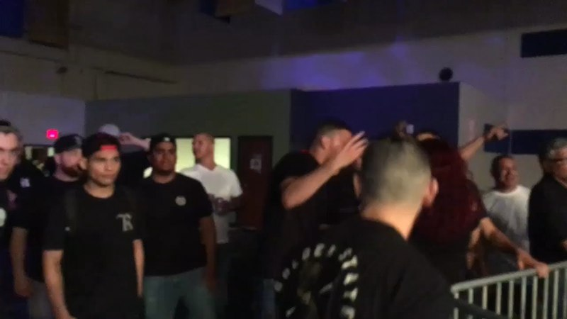 Nate Diaz, His Entourage, Clay Guida Tyler Diamond's Combate Americas Incident