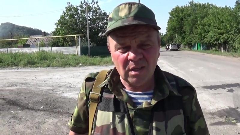 очень тяжёлые , вот такие преступления против своего человечества проводит украинская хунта