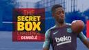 THE SECRET BOX CHALLENGE Ousmane Dembélé