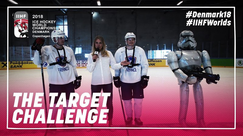 Shooting Challenge Star Wars Style: Ritz vs. LeClerc | IIHFWorlds 2018