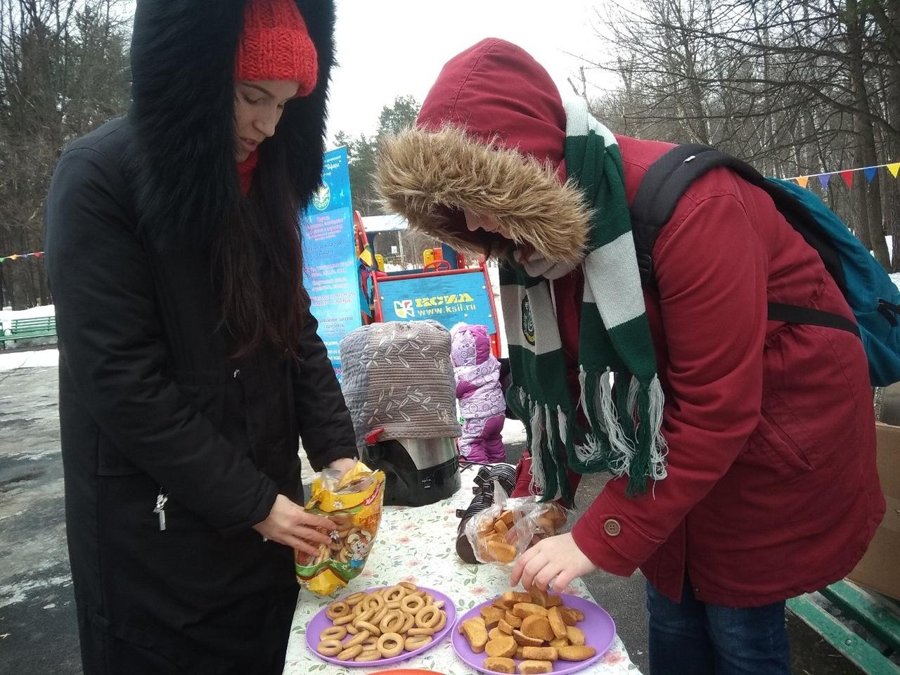 чаепитие в Ивановском лесопарке