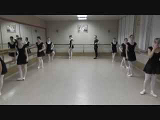 Зачёт по классическому танцу группы Б-217 2018 года, 2 подгруппа