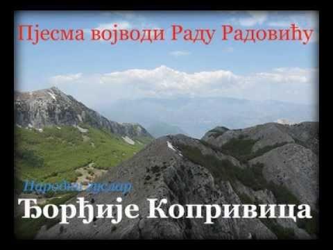 Narodni guslar Đorđije Koprivica-Pjesma vojvodi Radu Radoviću