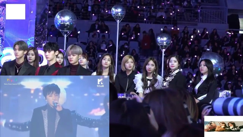 TWICE Reaction to WINNER Really Really Love Me Love Me MMA 2017