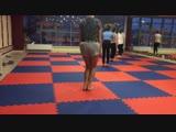 Группа А открытый урок по акробатике