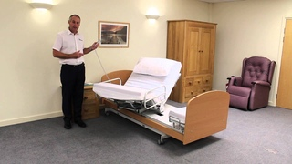 The Rotoflex Rotational Care Bed From Theraposture - gets you in and out of bed independently