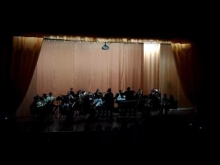 Р.н.п.Калинка. Исполняет Денис Гилязов в сопровождении духового оркестра,под упр. Сеславина Е.А.