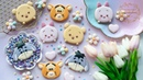 How to make Winnie The Pooh Friends Tsum Tsum Cookies ~ Eeyore, Tigger, Piglet Pooh Cookies