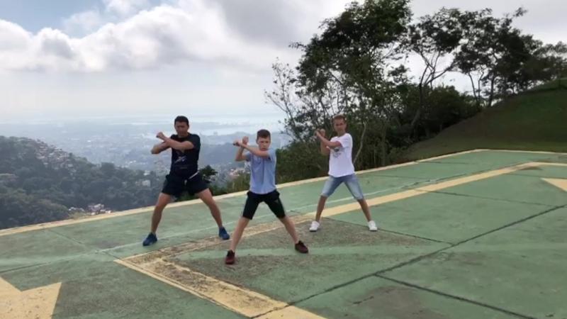 Тренировка в Рио-де-Жанейро