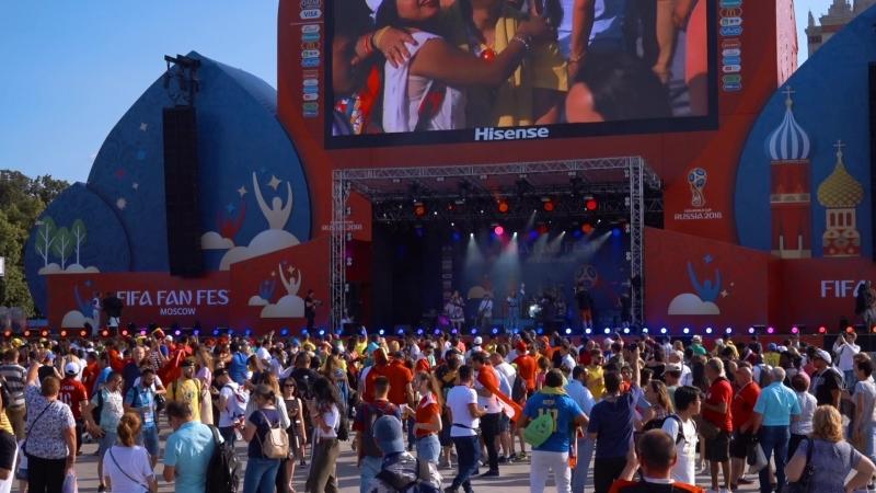Артель Роса (Выступление на Фестивале FIFA FAN FEST 2018