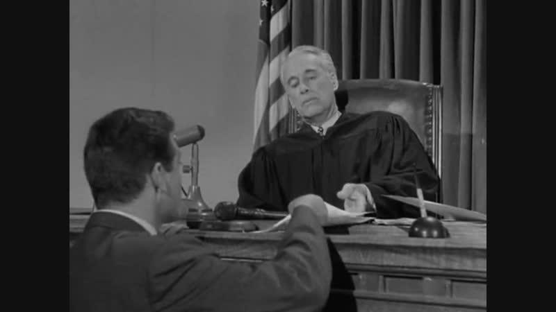 «Перри Мейсон. Дело племянницы сомнамбулы» (1957) - детектив, реж. Уильям Д. Расселл, 2-я серия